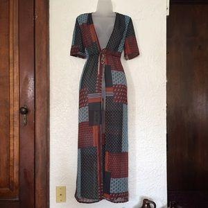 ❤️🖤💙💕 WYLDER boho patchwork kimono